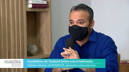 Fabiano Vanone (Podemos) diz o que pretende fazer na habitação