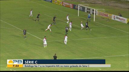 Botafogo-PB 7 x 0 Imperatriz, pela rodada #14 da Série C