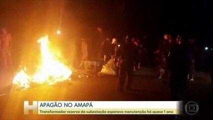 Apagão no Amapá chega ao 7º dia com falhas em rodízio de energia