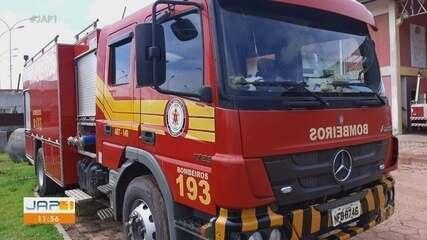 Caminhão do Corpo de Bombeiros é apedrejado na Zona Norte de Macapá