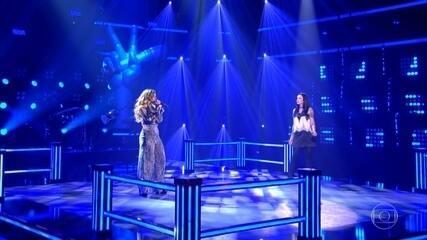 Sofia Moreno e Stefanie Schirmbeck cantam 'I Don´t Want To Talk About It'