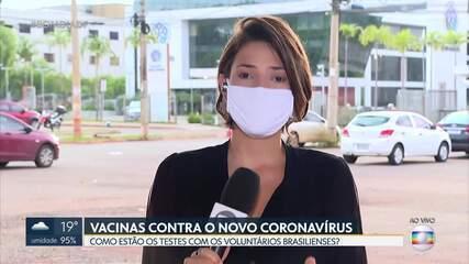 Testes da vacina contra a Covid-19 recomeçam no DF