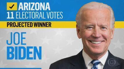 Mais veículos da imprensa dos EUA projetam vitória de Biden no Arizona