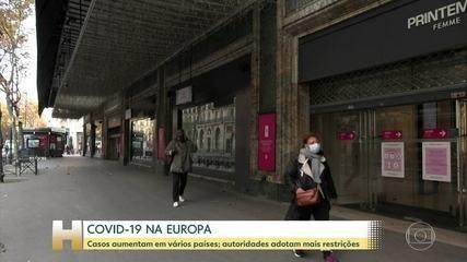 Segunda onda de Covid ameaça Europa