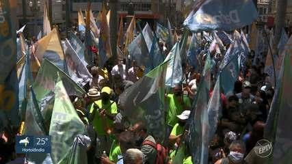 Candidatos a prefeito de Campinas discutem propostas no último dia de campanha no 1º turno