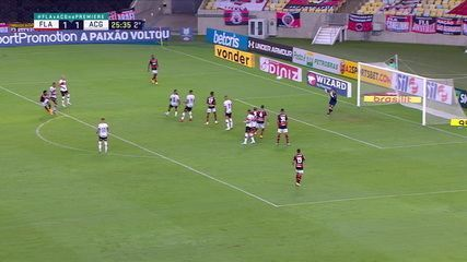 Melhores momentos de Flamengo 1 x 1 Atlético-GO pela 21ª rodada do Campeonato Brasileiro