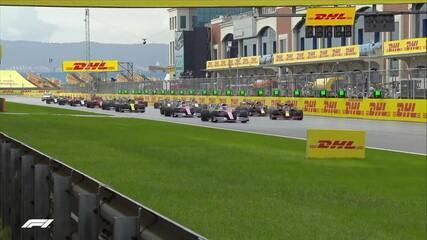 Veja a largada do GP da Turquia