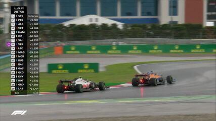 Norris passa Magnussen e sobe para décimo no GP da Turquia