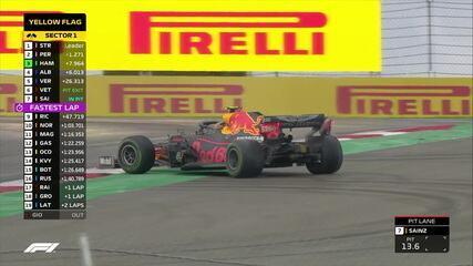 Vettel faz mais um pit stop e Albon roda no GP da Turquia