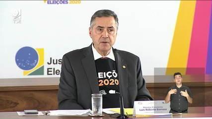 Ministro Barroso nega que TSE tenha sofrido ataque de hacker
