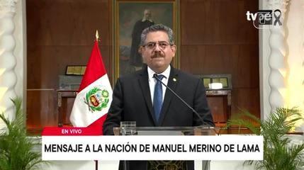 Presidente interino do Peru renuncia ao cargo