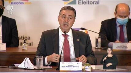 Barroso: tentativa de ataque teve origem em vários países; urnas não são vulneráveis
