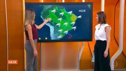 Previsão de calor para todo o Brasil nesta segunda (16)