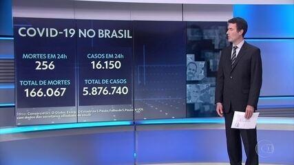 Brasil tem 16 estados mais o DF com média móvel de mortes em alta