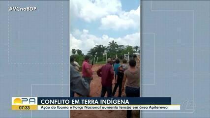 Clima é tenso na Terra Indígena Apiterewa, no sudeste do Pará