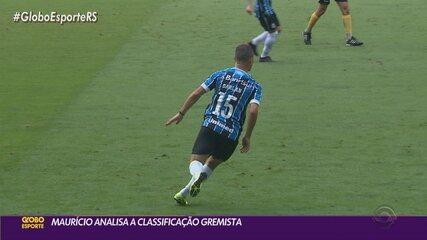 Maurício Saraiva analisa classificação do Grêmio e a titularidade de Darlan