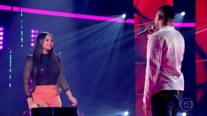 Anna Lima e Victor Alves cantam 'Se eu não te amasse tanto'