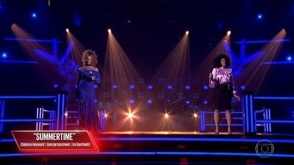 Diva Menner e Stanya cantam 'Summertime'