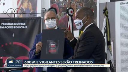 600 mil vigilantes serão treinados em São Paulo