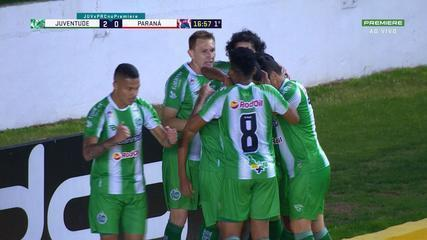 Confira os melhores momentos entre Juventude 5 x 0 Paraná