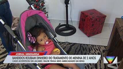 Criminosos invadem casa e levam dinheiro de tratamento de bebê