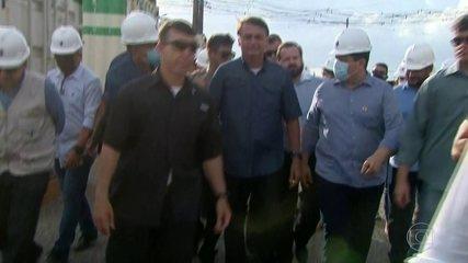 Depois de 19 dias de apagão, o presidente Bolsonaro visitou o Amapá