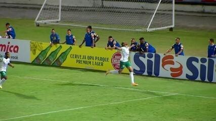 Gols de Santa Cruz 1 x 2 Manaus pela Série C