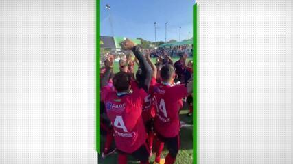 Solta o grito de campeão! Resenha FC comemora título da Copa do Brasil de Fut7; veja