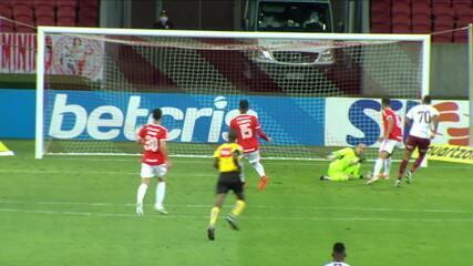 Os gols de Internacional 1 x 2 Fluminense pela 22ª rodada do Campeonato Brasileiro