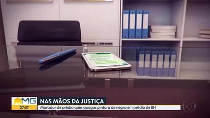 Painel do Cura em prédio de BH vira caso de justiça e corre risco de ser apagado