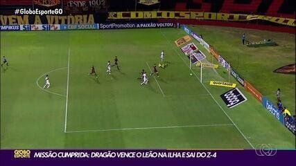 Atlético-GO vence o Sport e se afasta da zona de rebaixamento da Série A