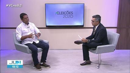 Candidato a prefeitura de Belém, Delegado Federal Eguchi, participa de entrevista no JL2