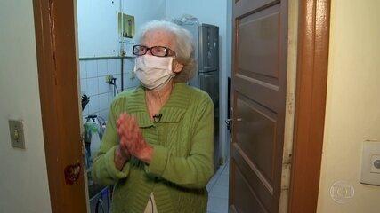 Pandemia provoca reencontro de amigas em São Paulo