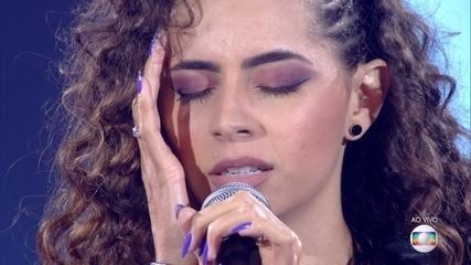 Ana Canhoto canta 'Você Sempre Será' na Rodada de Fogo