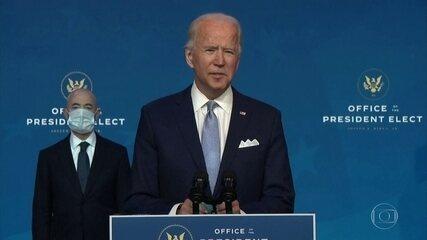 Joe Biden enfatiza seu plano de um política externa baseada na liderança global dos EUA