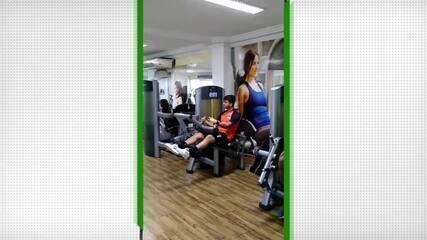 River-PI treina em academia de Manaus durante retorno a Teresina após jogo da Série D