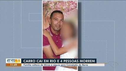 Família do ES morreu em acidente quando voltava de velório em MG