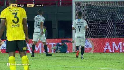 Melhores momentos do Guarani-PAR 0 x 2 Grêmio pelas oitavas de final da Libertadores