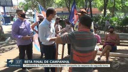 Eleições 2020: veja agenda dos candidatos a prefeito de Limeira nesta sexta (27)