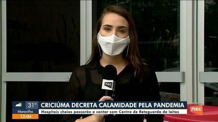 Hospitais cheios de Criciúma passarão a contar com Centro de Retaguarda de leitos