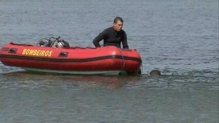 Bombeiros buscam por crianças e homem que desapareceram em rio de Chavantes