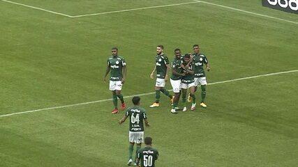 Os gols de Palmeiras 3 x 0 Athletico-PR pela 23ª rodada do Brasileirão 2020