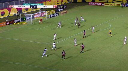 Melhores momentos de Vitória 2 x 1 CRB, pela 24ª rodada do Campeonato Brasileiro da Série B