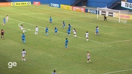 Veja os gols de 3B 1 x 1 Real Brasília, pela Série A2 do Brasileiro feminino