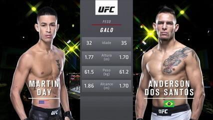 UFC Smith x Clark: Martin Day x Anderson Berinja