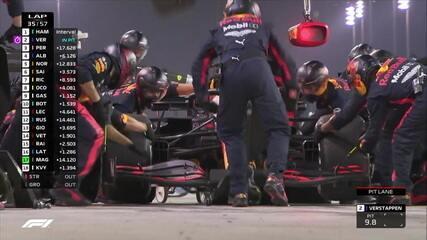 Verstappen faz novo pit stop no GP do Bahrein