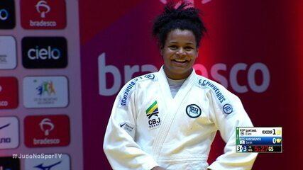 Na luta de desempate, Ellen Santana dá ao Pinheiros o título da Copa Brasil Interclubes