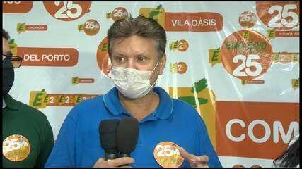 Euclerio Sampaio, prefeito eleito em Cariacica, fala sobre o resultado