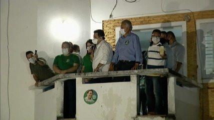 Ronaldo Caiado visita a Anápolis para parabenizar o prefeito reeleito Roberto Naves