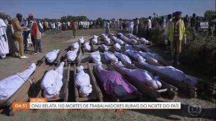 Vítimas de massacre atribuído ao Boko Haram na Nigéria começam a ser enterradas